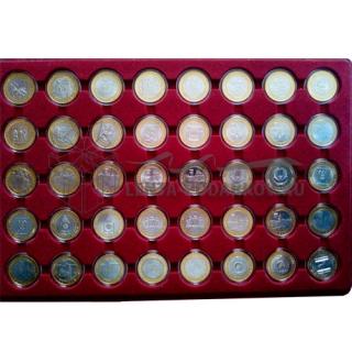Набор биметаллических монет UNC