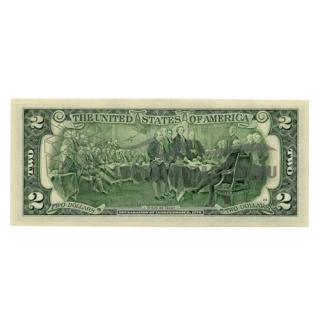 Банкнота 2 доллара