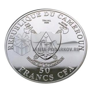 50 франков Камерун В.В.Путин - Человек года. В капсуле