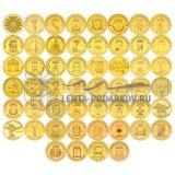 Набор стальных монет ГВС